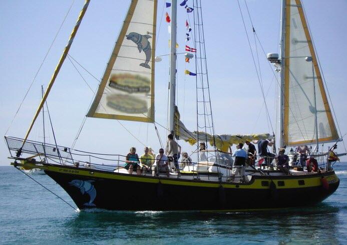 Paseos en barco Costa del Sol