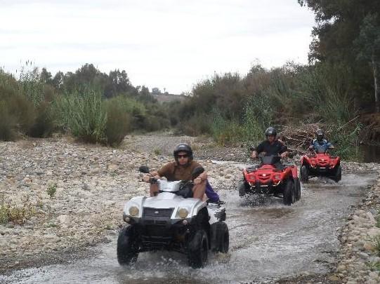 Quads en Marbella rutas y excursiones